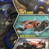 AMPHIBIOUS 4WD RADIO CONTROLLED VEHICLE
